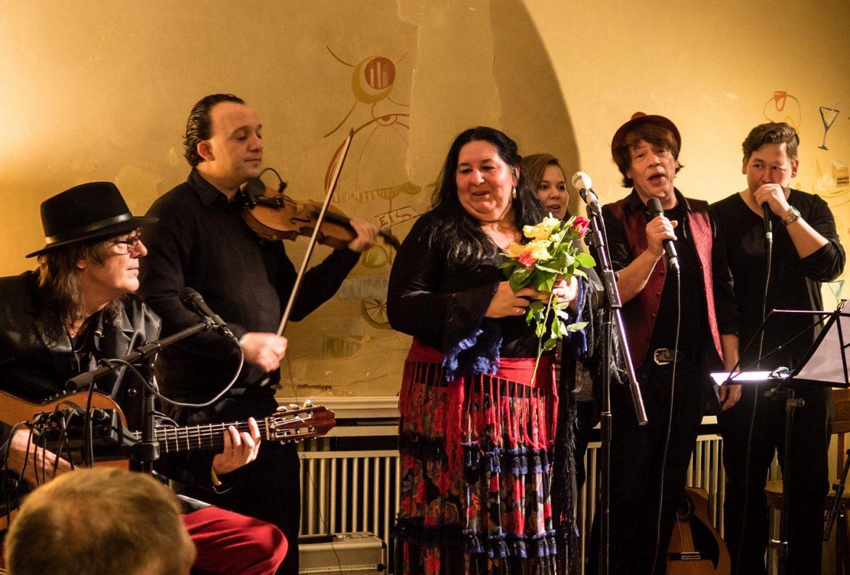 Karola Nitsch im Konzert mit Familie