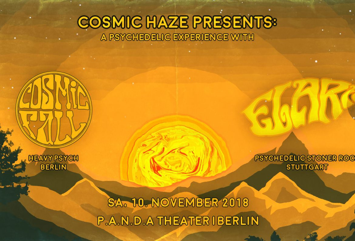 Elara and Cosmic Fall live at PANDA Theater Berlin